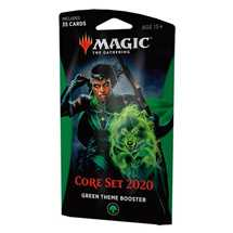 MTG - Set Base 2020 Theme Booster Verde - EN