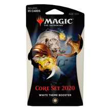 MTG - Set Base 2020 Theme Booster Bianco - EN