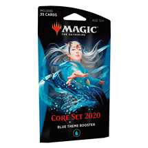 MTG - Set Base 2020 Theme Booster Blu - EN