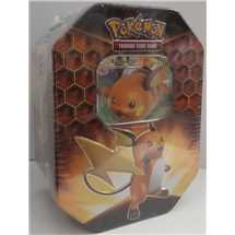 Collectible Tin Hidden Fates Raichu GX