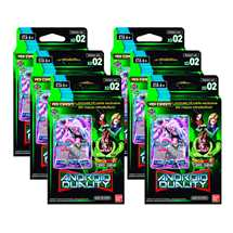 Display 6x Dragon Ball Super Expert Deck 02 Android Duality (DBS-XD02)