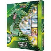 Pokemon Battle Arena Decks: Rayquaza GX vs. Ultra Necrozma GX (8 mazzi)