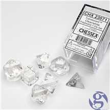 23071 Clear Translucent Dice