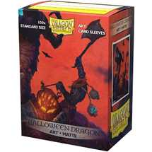 12022 Dragon Shield Classic Art Sleeves - Halloween Dragon (100 Sleeves)
