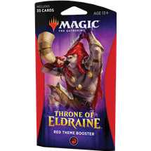 MTG - Throne of Eldraine Theme Booster Red