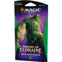 MTG - Throne of Eldraine Theme Booster Green