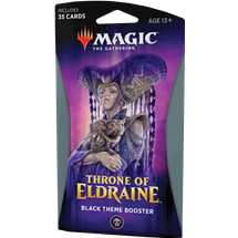 MTG - Throne of Eldraine Theme Booster Black