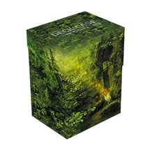 UGD010909 Ultimate Guard Basic Deck Case 80+ Standard Size Lands Edition II Forest