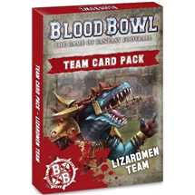 200-76-60 Team Card Pack: Lizardmen Team (Inglese)
