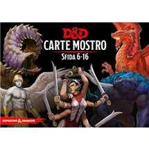 Dungeons & Dragons - Carte Mostro Sfida 6-16