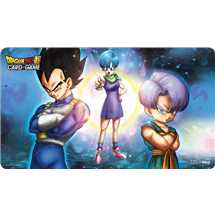 E-15308 Dragon Ball Super Playmat Super Bulma, Vegeta and Trunks + Tubo