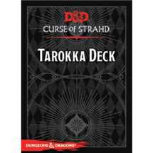 Dungeons & Dragons RPG - Curse of Strahd - Tarokka Deck (54 Cards) - EN