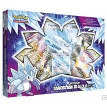 Pokemon Collezione Sandslash di Alola-GX Box