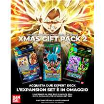 Dragon Ball Super XMas Gift Pack 2 (2 mazzi per esperti + omaggio)