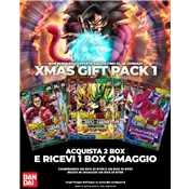 Dragon Ball Super Xmas Gift pack 1 (bt07-bt08 + bt05 omaggio)