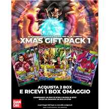 Dragon Ball Super Xmas Gift pack 1 (bt07-bt08 + bt05 omaggio)