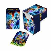 E-85980 Porta Mazzo Dragon Ball Super Full-View Deck Box Goku, Vegeta, and Broly
