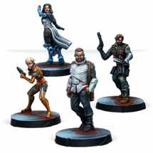 0810 Infinity: Agents of the Human Sphere. RPG Characters Set - EN
