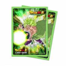 E-85979 Dragon Ball Dragon Ball Super Standard Size Deck Protector Broly (65 Sleeves)