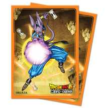 E-15304 Standard Sleeves Dragon Ball Super - Beerus (65 Sleeves)