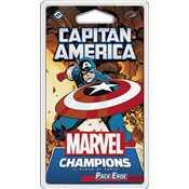 Marvel Champions - il Gioco di Carte - Capitan America (Pack Eroe)