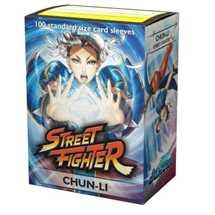 16014 Dragon Shield Jasco Street Fighter Standard Sleeves - Chun-Li (100 Sleeves)