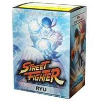 16014 Dragon Shield Jasco Street Fighter Standard Sleeves Ryu (100 Sleeves)