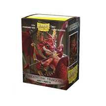 12047 Dragon Shield Standard Matte Art Sleeves  Valentine 2020 Dragon (100 Sleeves)