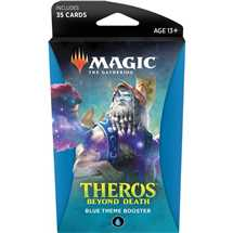 MTG - Theros Beyond Death Theme Booster Display Blue - ING