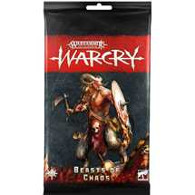 111-50 Warcry: Pacchetto di carte dei Beasts of Chaos