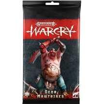 111-44 Warcry: Pacchetto di carte degli Ogor Mawtribes