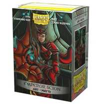 12045 Dragon Shield Matte Art Sleeves - Emperor Scion: Portrait (100 Sleeves)
