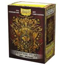 12024 Dragon Shield Brushed Art Sleeves - General Vicar: Coat-of-Arms (100 Sleeves)
