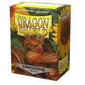 11030 Dragon Shield Matte Art Sleeves - Tangerine (100 Sleeves)