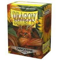 11030 Dragon Shield Matte Art Sleeves - Tangerine (100 Sleeves)