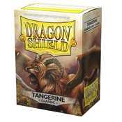 10030 Dragon Shield Classic Sleeves - Tangerine 'Dyrkottr of the Nekotora' (100 Sleeves)