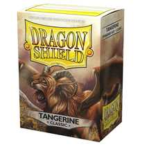 10030 Dragon Shield Classic Sleeves - Tangerine 'Dyrkottr of the Nekotora' (100 Sleeves)