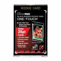 E-85919 35PT Rookie Black Border UV One-Touch Magnetic Holder