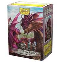 12049 Dragon Shield Matte Art Sleeves - Father's Day Dragon 2020 (100 Sleeves)