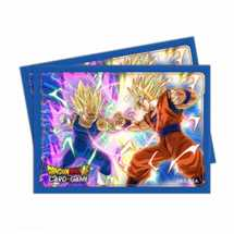 UP - Sleeves Standard - Dragon Ball Super - Vegeta vs Goku (65 Sleeves)