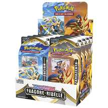 Box 8x Mazzi Pokemon Spada e Scudo Fragore Ribelle ITA