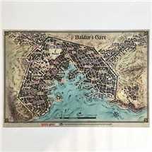 Dungeons & Dragons 5a ed.Mappa di Baldur's Gate
