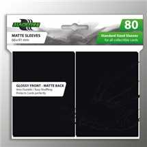 BF03600 Standard Sleeves - Black (80 Sleeves)