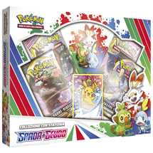Pokemon Spada e Scudo Starter Figure Box