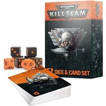 102-68 Warhammer 40K Kill Team Dice & Card Set