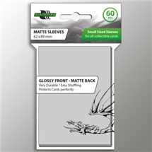 BF03976 Small Sleeves - Clear (60 Sleeves)