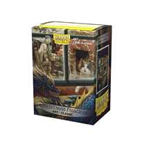 12023 Dragon Shield Classic Art Sleeves - Christmas Dragon (100 Sleeves)