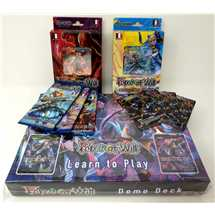 Bundle FOW Force of Will 2 Starter Deck + 3 Buste (demo deck + 4 promo in omaggio)