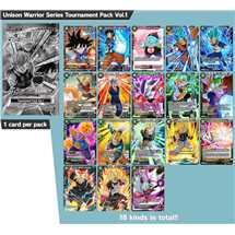 Dragon Ball Unison Warrior Series Tournament Kit Vol.1