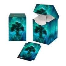 E-18293 Porta Mazzo 100 + Deck Box - Magic: The Gathering Celestial Forest